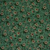 Old floral design on fabric Royalty Free Stock Photo