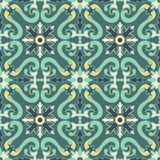 Old floral tiles Royalty Free Stock Photos