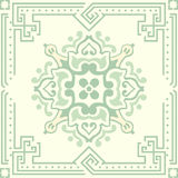 Old floral tiles Stock Images
