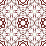 Old floral tiles Stock Photos