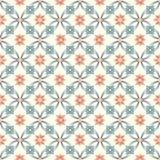 Old floral tiles vector illustration