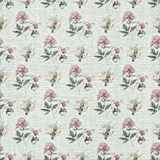 Old floral wallpaper background Stock Photo