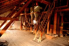 The old flour mill Stock Photography