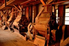 The old flour mill Royalty Free Stock Photography