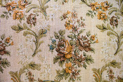 Old flower pattern Stock Images