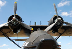 Old Flying Boat Royalty Free Stock Photos