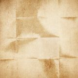 Old folded paper Royalty Free Stock Photo