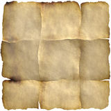 Old folded paper Stock Image