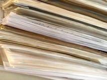 Old folder background Stock Photography