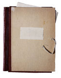 Old folder with papers Royalty Free Stock Photography