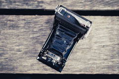 Old Folding Camera Royalty Free Stock Images