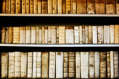 Old folio. Old university library in Prague, Czech Republic Royalty Free Stock Photo