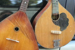 Old folk stringed musical instruments Royalty Free Stock Photography