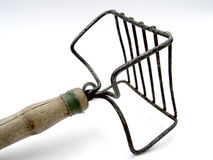 Old Food Masher Royalty Free Stock Photography