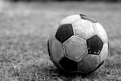 Old Football Royalty Free Stock Photos
