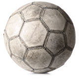 Old football ball Stock Photography