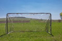 Old football gates Stock Photography