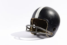 Old football helmet Stock Photos