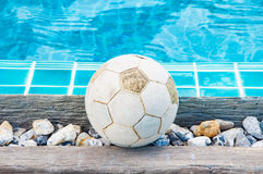 Old football Royalty Free Stock Image