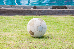 Old football Royalty Free Stock Images