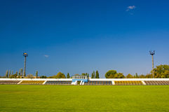 Old football stadium Royalty Free Stock Photos