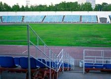 Old football stadium Royalty Free Stock Image