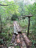 Old footbridge Royalty Free Stock Photos