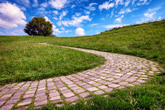 Old footpath Royalty Free Stock Images