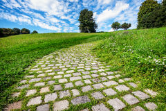 Old footpath Stock Image