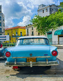 Old Ford Car (Cuba) Stock Images