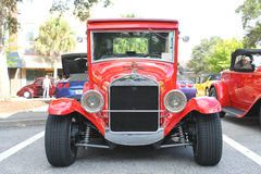 Old Ford car. The old Ford model-T car at the show Stock Image