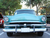 Old Ford car. The old Ford V8 Crestline car at the show Stock Photo