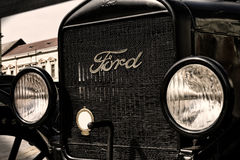 The old Ford car Royalty Free Stock Photo