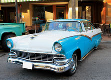 Old Ford Fairlane Car Stock Images