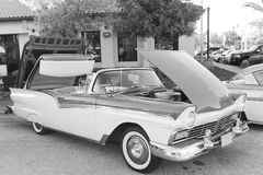 Old Ford Fairlane Car. The old Ford Fairlane-1957 car on the street Stock Photography