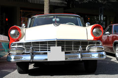 Old Ford Fairlane Car. The old Ford Fairlane car at the show Royalty Free Stock Images