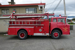 An old ford firetruck Stock Images
