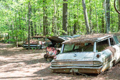 Old Ford Mercury Station Wagon Royalty Free Stock Photography