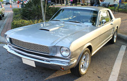 Old Ford Mustang Car Stock Photography