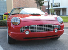 Old Ford Thunderbird Car. The old Ford Thunderbird car at the show Royalty Free Stock Photography