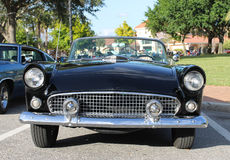 Old Ford Thunderbird Car. The old Ford Thunderbird car at the show Royalty Free Stock Photo