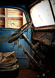Old Ford truck cab Royalty Free Stock Image