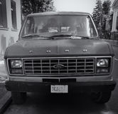 Old FORD van Royalty Free Stock Photo