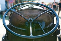 Old Fordson tractor detail Stock Images