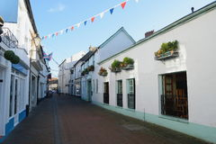 Old Fore Street in Sidmouth. Devon Royalty Free Stock Photography