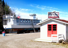 Old Forge Lake Cruises Royalty Free Stock Photos
