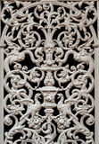 Old forged decorative detail Royalty Free Stock Photography
