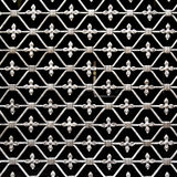Old forged grate Stock Images
