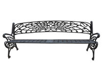 Free Old Forged Iron Bench Isolated On White Background Stock Photo - 74905390