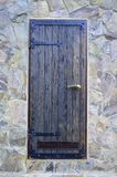 Old forged wooden doors royalty free stock photo